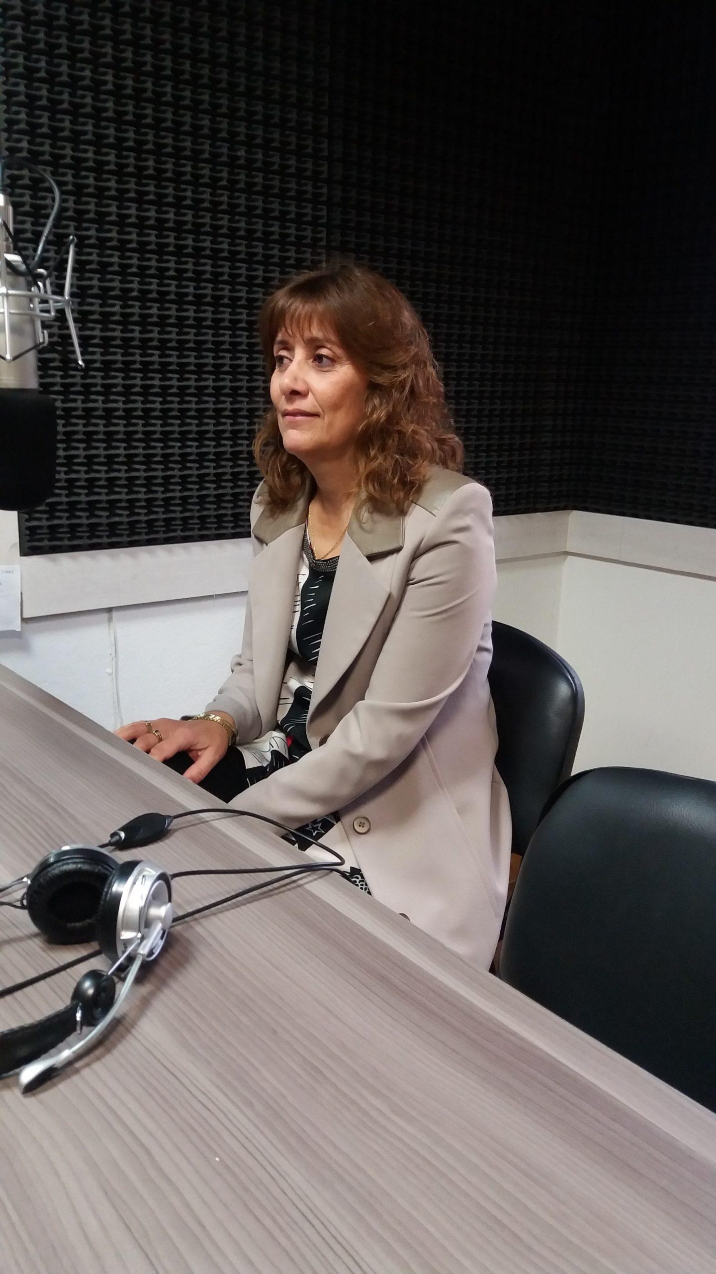 Dra. Judith Marcó, productora frutícola en el Alto Valle de Río Negro