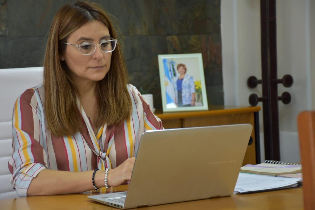Legisladora provincial, (Juntos Somos Río Negro), Marcela Avila.