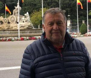 Eduardo Artero, presidente del Consorcio de Riego de Cipolletti