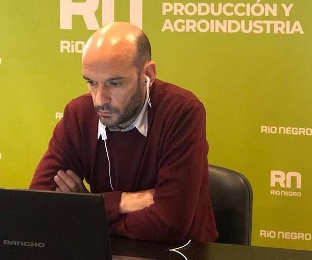 Subsecretario de Fruticultura de Río Negro, Pablo de Azevedo