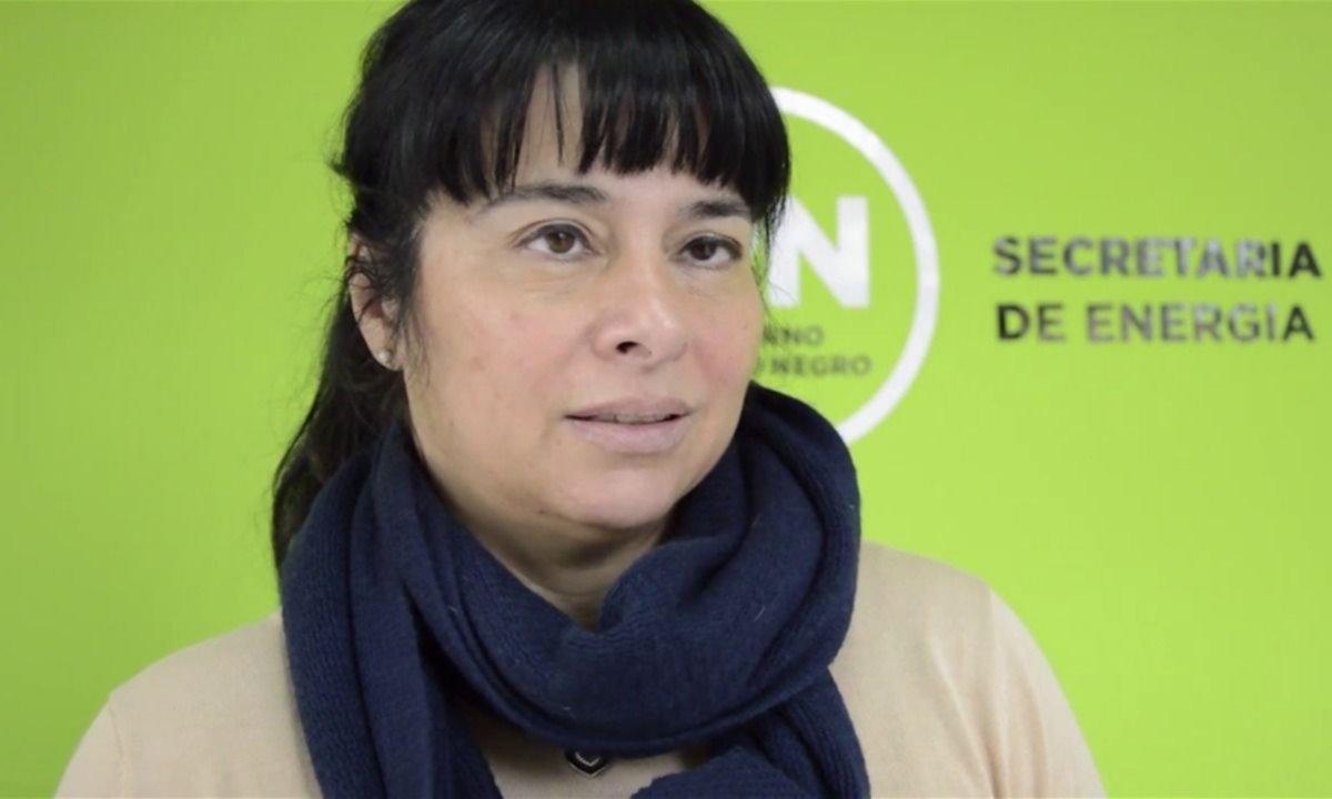 Andrea Confini, secretaria de Energía Eléctrica de Rio Negro