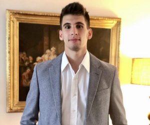 Francisco Gil Garbagnoli, graduado de la carrera de Bioingeniería del Instituto Tecnológico Buenos Aires (ITBA